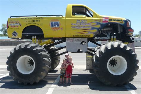 monster truck kids dutch love family monster truck