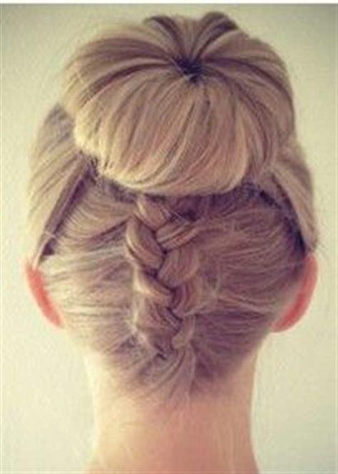 dance small bun with braid hairpiece pinterest the world s catalog of ideas