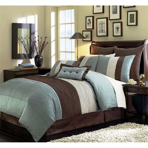 best bed in a bag sets best blue bedding sets sale ease bedding with style