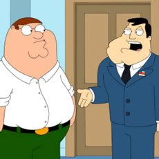 family guy gets american dad, king of the hill crossover