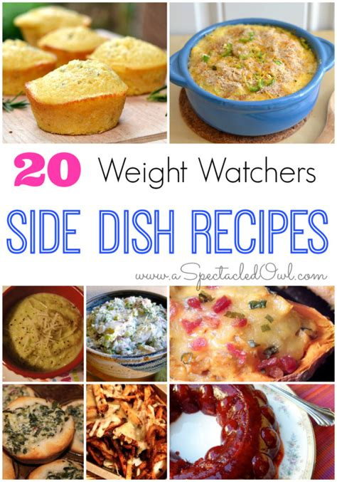 weight watchers start recipes 20 weight watchers side dish recipes a spectacled owl