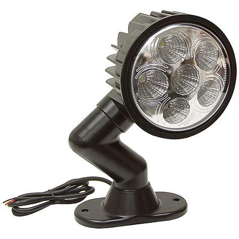 12v Dc Light Fixtures 12 Volt Dc 1350 Lumens Led Utility Swivel Spot Light Dc Mobile Equipment Lights Lights