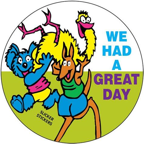 Had A by We Had A Great Day Stickers School Merit Solutions