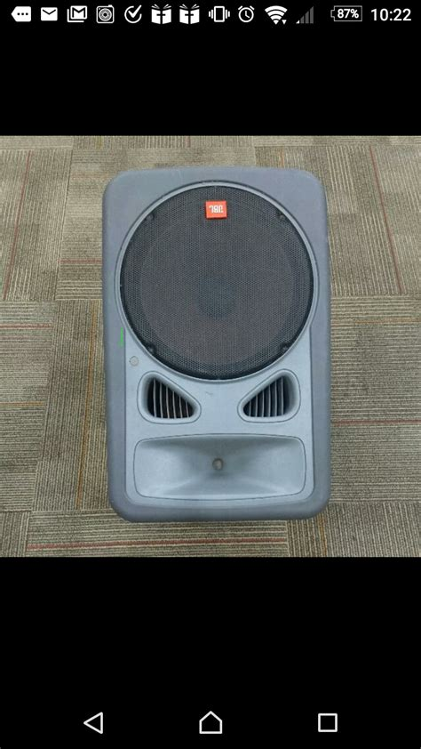 Speaker Jbl Second jbl eon15 2 way speaker for sale in singapore adpost