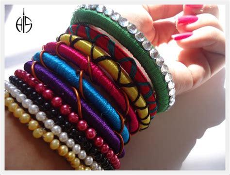 Handmade Bangles - 35 stylish handmade bangles to make you stay cool