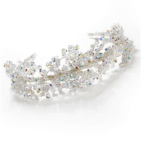 Handmade Tiaras - handmade wedding tiara by rosie willett designs