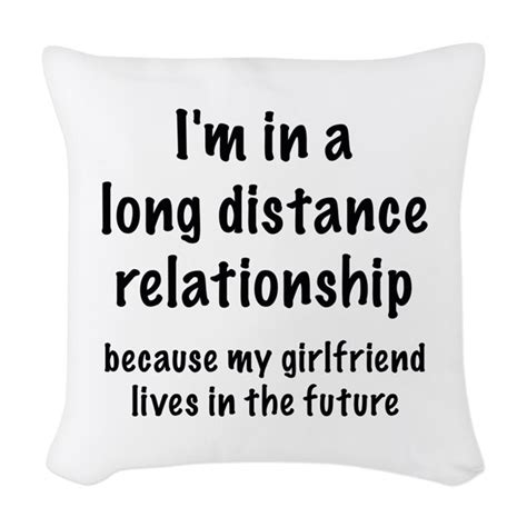 Long Distance Pillow Meme - long distance relationship woven throw pillow by amazingvision