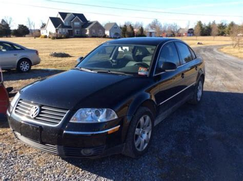 find   vw passat tdi black loaded auto turn key daily driver  bunker hill west