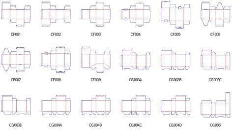 packagingbox corrugated and folding carton box templates