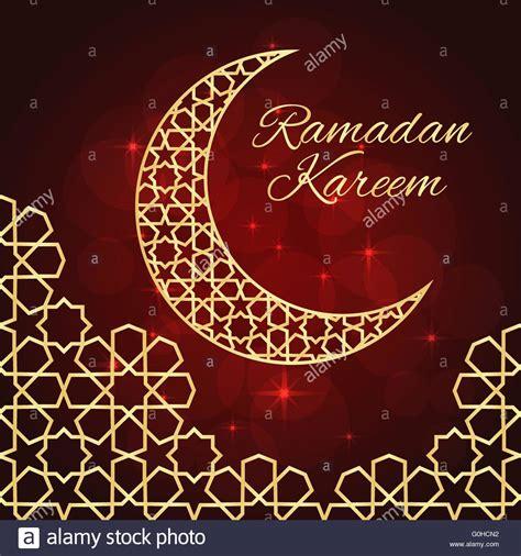 ramadan card templates ramadan greeting card stock vector illustration