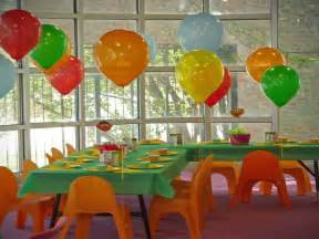 Birthday Decoration Ideas For Kids At Home by Decoration Colorful Kids Decorating Ideas For A Party At
