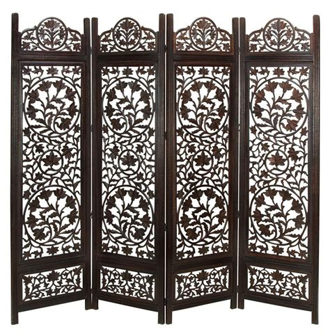 wood divider 24 best room dividers screens made from canvas wood