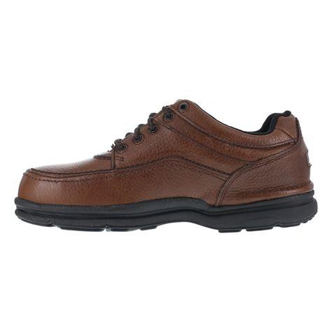 mens oxford work shoes rockport rk6762 world tour mens brown sd dr steel toe