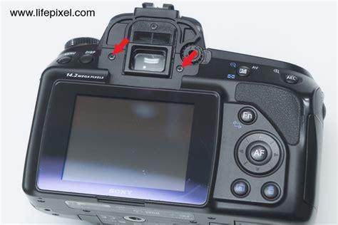 Kamera Sony Dslr A450 pixel sony a450 diy digital infrared conversion tutorial infrared conversions ir