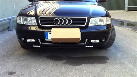 audi fog lights audi a4 b5 headlights fog lights drl