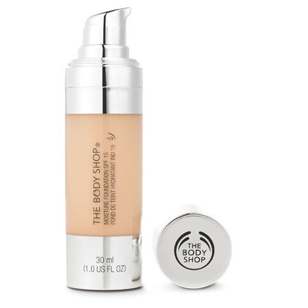 Bodyshop Foundation the shop moisture foundation spf 15 review and