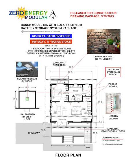 Zero Energy Small Home Plans Zero Energy Modular Concept Small Home