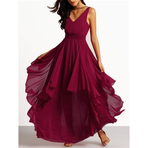 Robe Longue Bordeaux Demoiselle D Honneur - robe de mariee bordeaux achat vente robe de mariee