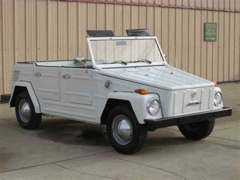 volkswagen thing volkswagen thing for sale on classiccars com 18