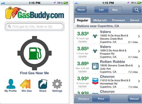 gasbuddy app for android how to find cheap gas gsm nation android and iphone appsgsm nation