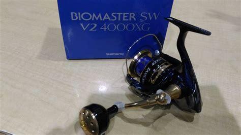 Reel Pancing Shimano Biomaster jual reel shimano biomaster sw v2 4000xg limited langit