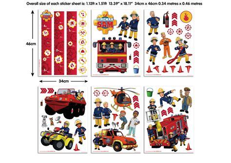 Feuerwehr Aufkleber Kinderzimmer by Wandsticker Kinderzimmer Feuerwehrmann Sam Walltastic