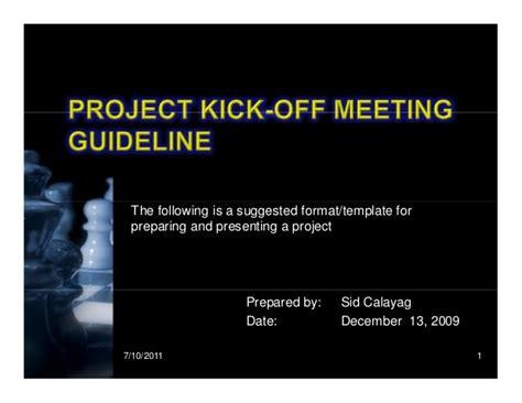 Kick Template Kick Meeting Presentation