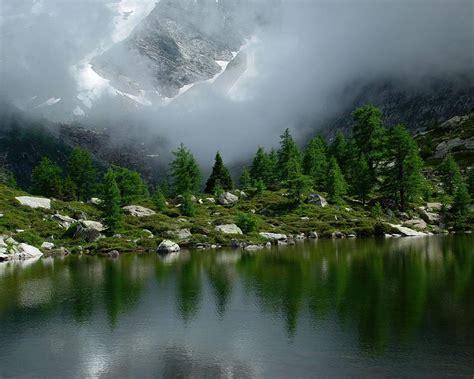 imagenes de paisajes verdes para pantalla fondo pantalla paisaje lago