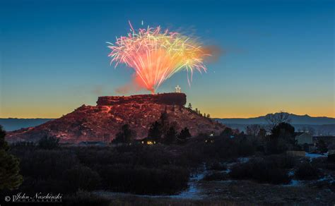 castle rock lights castle rock 2016 lighting fireworks 01 scenic