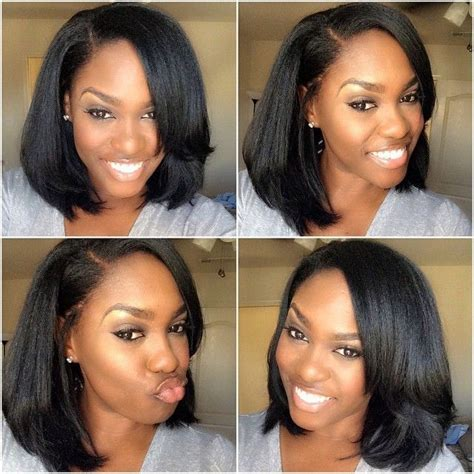 short weave hairstyles with closure best 25 full sew in ideas on pinterest