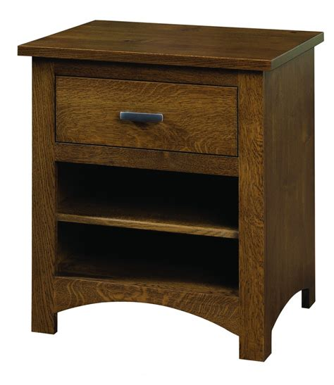 Country Mission 1 Drawer 1 - siesta mission stand with one drawer amish