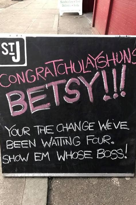 betsy devos board game seattle restaurant s sandwich board congratchulayting