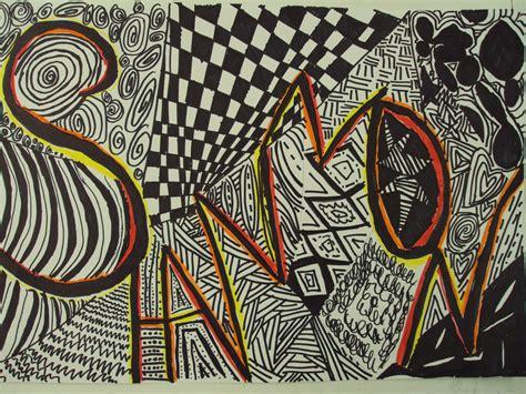 pattern name art name designs 6th grade thinkcreateart