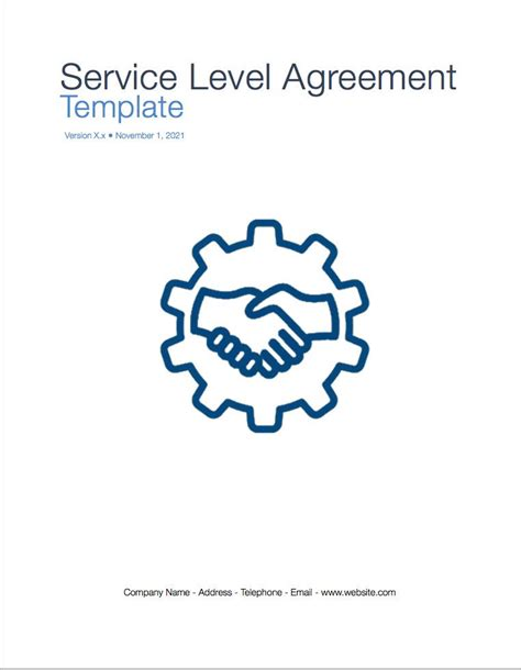 business service level agreement business service level agreement staruptalent