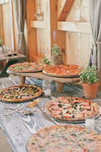 Table Pizza Dinner Buffet Think Outside The Dessert Table 23 Fresh Food Stations