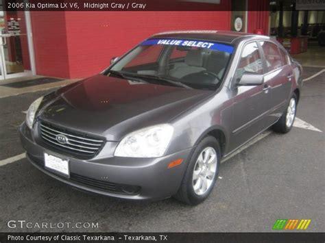 2006 Kia Optima Lx Midnight Gray 2006 Kia Optima Lx V6 Gray Interior