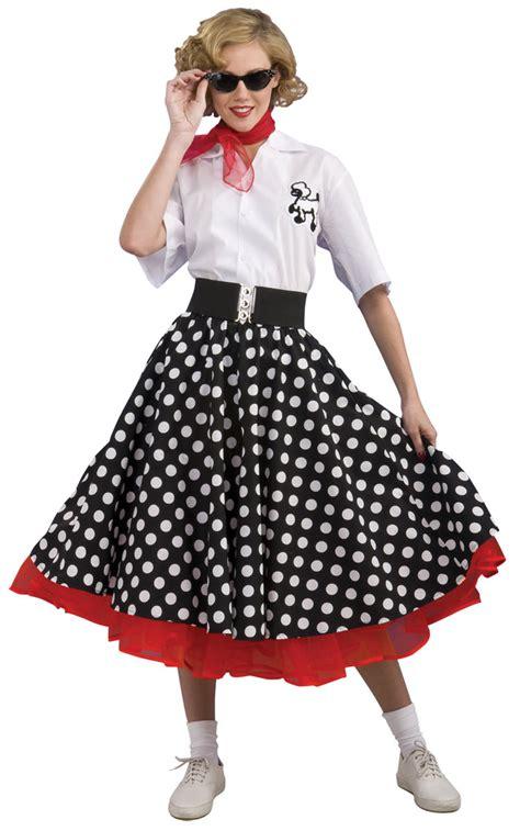 deluxe polka dot 50 s costume costume craze