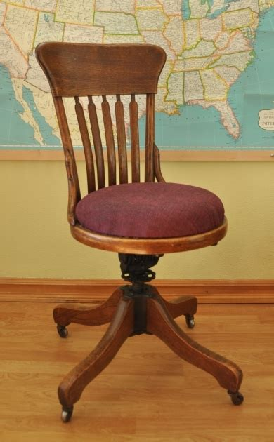 Antique Wooden Swivel Desk Chair Image 04 Chair Design Wooden Swivel Chair Uk