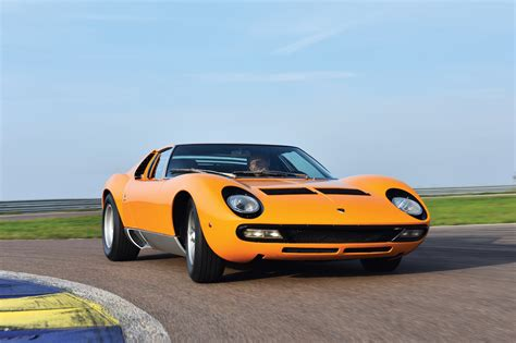 1972 Lamborghini Miura P400 Sv A Lamborghini Miura P400 Spinto Veloce From 1972