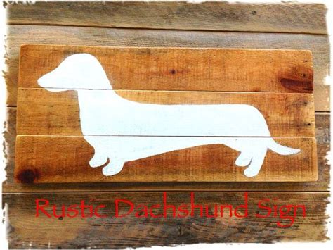 dachshund wall decor dog sign large wooden doxie dachshund reclaimed wood sign dachshund wall art vintage sign