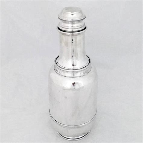 sterling silver barware sterling silver art deco cocktail shaker by cartier of