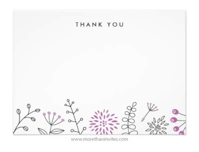 Thank You Letter Border stationery office supplies archives more than invites