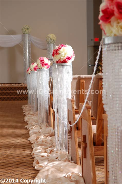 3 iride rd scent wedding aisle decoration