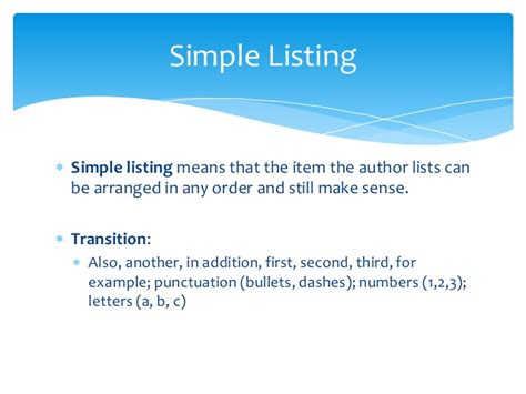 pattern of organization addition recognize patterns of organization
