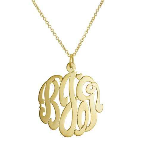 monogram necklaces for ship date susans