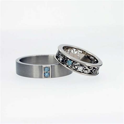Wedding Band Sets by 10 Unique Wedding Bands For The Groom