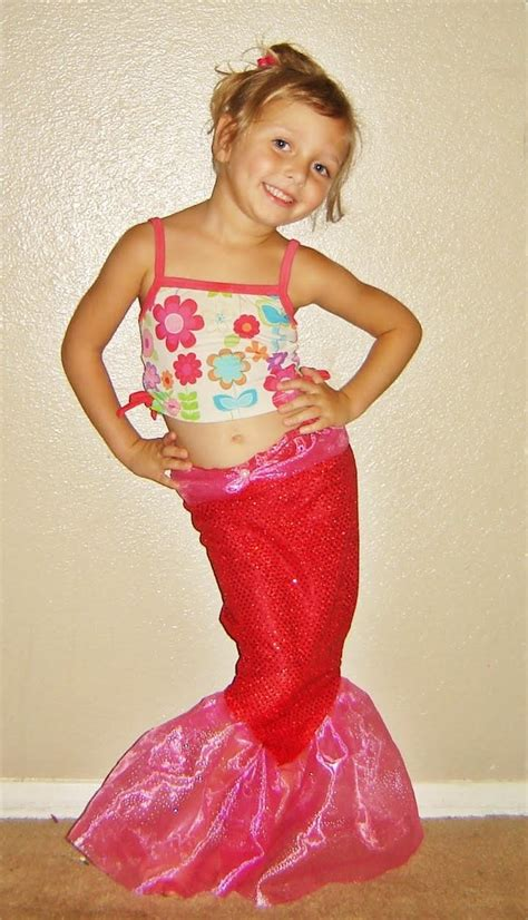 Sparkly Mermaid Tale Halloween Costume   AllFreeSewing.com