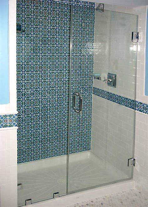 Shower Stall Glass Doors Frameless Vs Framed Shower Surrounds Bathroom