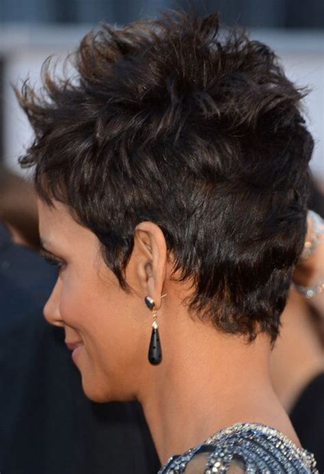 halle berry haircuts front and back relaxed to natural and back to relaxed black hairstyles