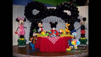 creative mickey mouse clubhouse birthday decorations